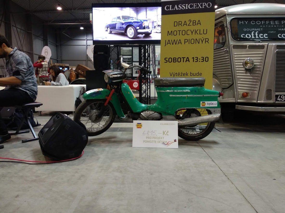 Classic Expo podporuje projekt Pomozte dětem